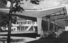 Antwerpen-Kiel - Stedelijk Instituut Voor Technisch Onderwijs Den Tir 1958-1959 Stedelijk, Outdoor Decor, Home Decor, Kiel, Decoration Home, Room Decor, Home Interior Design, Home Decoration, Interior Design