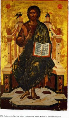 Критская школа Orthodox Catholic, Orthodox Christianity, Byzantine Icons, Byzantine Art, Savior, Jesus Christ, Christ Pantocrator, Holy Quotes, Medieval Art