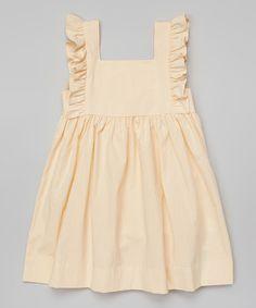 Look at this Yellow Seersucker Alyssa Dress - Infant, Toddler