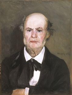 Auguste Renoir - Portrait de Léonard Lenoir (Le père de l'artiste)