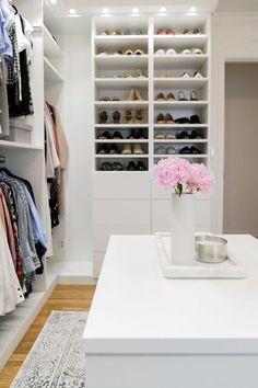 Take a Peek Inside These 4 Fashion Closets via @WhoWhatWear
