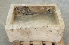 Reclaimed Stone Sink : Antique Stone Sinks by Ancient Surfaces For years our antique stone ...