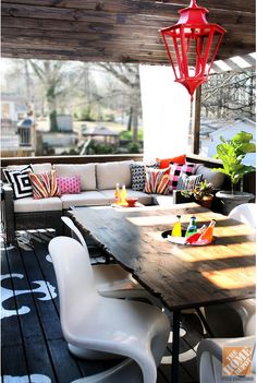 Outdoors :: Deck Decor Inspiration