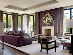 Refined Living Room with Apollo Mirror By Boca do Lobo | www.bocadolobo.com #bocadolobo #luxuryfurniture #luxurydesign #bespoke #furnituredesign #centertable