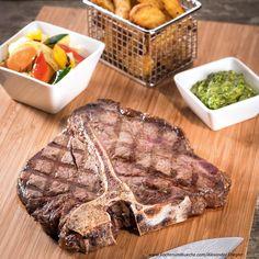 Das perfekte Porterhouse-Steak » Kochrezepte von Kochen & Küche Steak, Food, Food Portions, Meat, Easy Meals, Chef Recipes, Food Food, Essen, Steaks