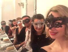 Some of the team dressed to impress at this years #Christmasparty - a glamorous Masquerade ball at the Hythe Imperial Hotel! Christmas #selfie!