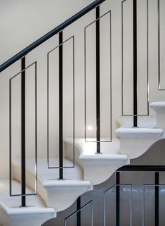 The Next Level: 14 Stair Railings to Elevate Your Home Design Stair Railing Ideas design Elevate Home Level Railings stair The Next Level: 14 Stair Railings to Elevate Your Home Design Stair Railing Idea. Marcel House The Next Level: 14 St House Stairs, House Design, Staircase Decor, Railing Design, Staircase Railings, Staircase Design, Staircase Railing Design, Interior Stair Railing, Handrail Design