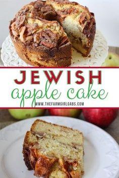 Jewish Desserts, Jewish Apple Cakes, Jewish Recipes, Köstliche Desserts, Easy Apple Desserts, Apple Cake Recipes, Dessert Cake Recipes, Easy Cake Recipes, Fall Recipes