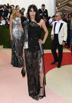 """Model Jamie Bochert attends the """"Manus x Machina: Fashion In An Age Of Technology"""" Costume Institute Gala at Metropolitan Museum of Art on May 2, 2016 in New York City."""