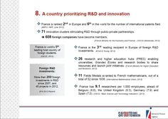 8. A country prioritizing R  and #innovation http://www.invest-in-france.org/Medias/Publications/1429/10-reasons-to-invest-in-France-july-2013.pdf