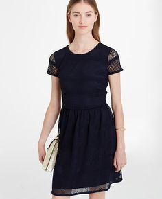 Image of Mesh Flare Dress