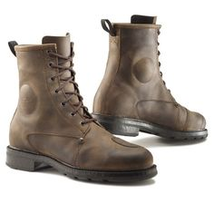 Ministry of Bikes - TCX Motorcycle Boots X-Blend W/P Brown Boots, £149.99 www.ministryofbikes.co.uk #MOBrules