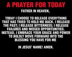 A prayer for you today