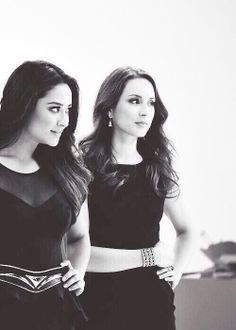 Shay Mitchell and Troian Bellisario, Pretty Little Liars