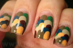 Easy Fall Nail Art - Viewing Gallery