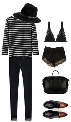 Striped T-shirt par rainvoice utilisant chaussures oxford