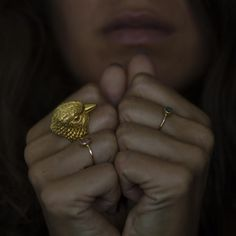 Gold Plated Bird Ring | 21dgrs