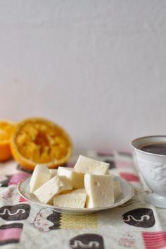 uten gluten: fluffy, friske og syrlige appelsinputer, og litt om gelatin og sukker