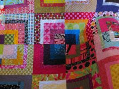 Modified Mod Bento Quilt | Completed the quilt with all the … | Flickr