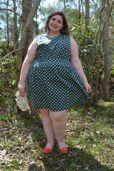 Super Style Me: Wear More Green St. Patrick's Day Dress Picks Plus Size Fashion