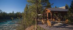 Glamping in Montana - Cliffside Camp al resort a Paws Up