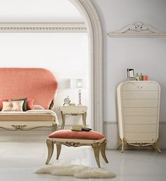 The Spacium bedroom with a special touch of Coral Beauty