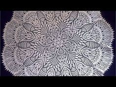 Crochet Doily Diagram, Crochet Doily Patterns, Crochet Doilies, Crochet Tablecloth, Diy And Crafts, Knitting, Couture, Tablecloths, Yandex Disk