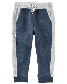 Baby Boy French Terry Pull-On Pants