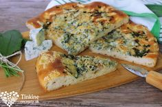 PODPECNÍK S NIVOU A MEDVEDÍM CESNAKOM Quiche, Healthy Recipes, Healthy Food, Eat, Breakfast, Kitchen, Spring, Healthy Foods, Morning Coffee
