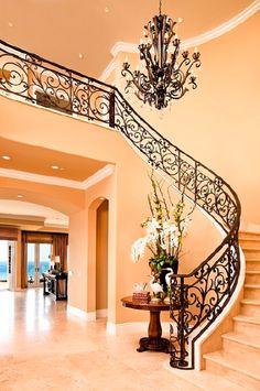 love the railing so gorgeous