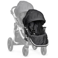 Baby Jogger City Select Second Seat Kit - Gray/Black More than one child? The City Select Second Seat Kit converts the Baby Jogger City Select single stroller City Select Double Stroller, Baby Jogger City Select, Single Stroller, City Stroller, Baby Jogger Stroller, Baby Strollers, Umbrella Stroller, Bugaboo, Transformers