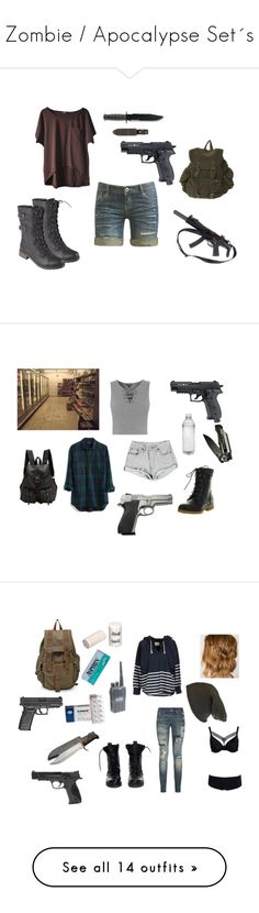"""Zombie / Apocalypse Set´s"" by bella-schroeder ❤ liked on Polyvore featuring Brinley Co., Wet Seal, Refresh, Topshop, Madewell, Jas M.B., Sons of Anarchy, Damsel in a Dress, Theyskens' Theory and Polo Ralph Lauren"