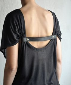 leather back detail