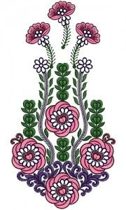Latest Dresses Kali Embroidery Design 14650 Embroidery Neck Designs, Ribbon Embroidery, Embroidery Patterns, Laser Art, Dress Drawing, Fashion Sewing, Latest Dress, Flourish, Artificial Flowers