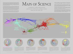 Maps of Science: Forecasting Large Trends in Science - Places & Spaces: Mapping Science http://scimaps.org/maps/map/maps_of_science_fore_50/#