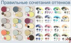 Сочетание цветов в макияже глаз. Комментарии : LiveInternet - Российский Сервис Онлайн-Дневников
