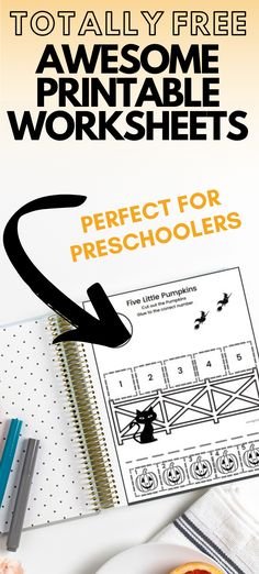 FREE Halloween Preschool Worksheets