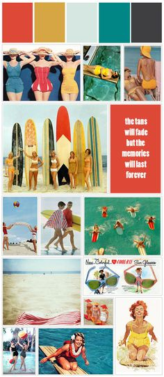 Color Story | Vintage Summer #stylyze #colorinspiration