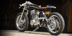 Suzuki S40 Savage LS650 with CS-1 Cafe Racer kit by Ryca Motors
