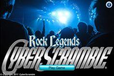 Rock Legends CyberScramble® 1.0