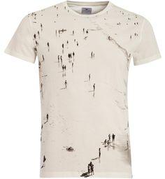 Loreak Mendian T-shirt Gros / Ecru | E-shop Citadium