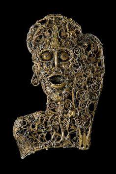 #Shout - (2009) 50x73 - made with #copper #brass #bronze #silver #art #sculpture #contemporaryart #artist #italian #metalart #metalsculpture