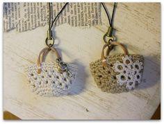 Crochet Mini Bags, je zou ervoor willen leren haken om dit te kunnen maken