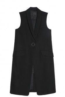 wool vest by ALEXANDER WANG. Available in-store and on Boutique1.com