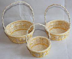 Flower Baskets, Flower Girl Basket, Easter Baskets, Storage Baskets, Gift Baskets, Laundry Basket, Wicker Baskets, Handicraft, Rattan