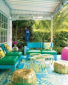 Tropical Home Decor | Tropical Beach Decor & DIY Decorating Tips