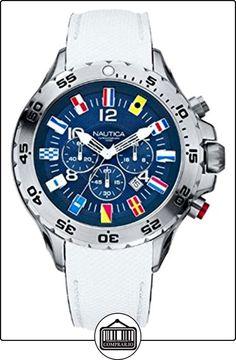 Nautica NST Chrono Flag A24514G - Reloj cronógrafo  ✿ Relojes para hombre - (Gama media/alta) ✿