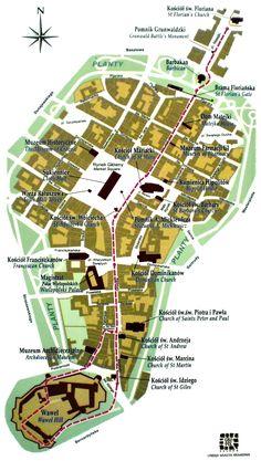 Krakow-Old-Town(Stare-Miasto-Planty)Royal-Route.jpg (1160×2051)