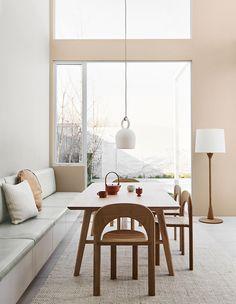 The 2020 Dulux Colour Forecast Is Revealed! (The Design Files) Estilo Interior, Home Interior, Interior Sketch, Interior Logo, Color Interior, Natural Interior, White Interior Design, Nordic Interior, Studio Interior