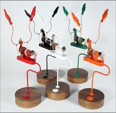 'Applause Machine', Automata from Cabaret Mechanical Theatre - Museum of Automata (mechanical sculpture), UK based